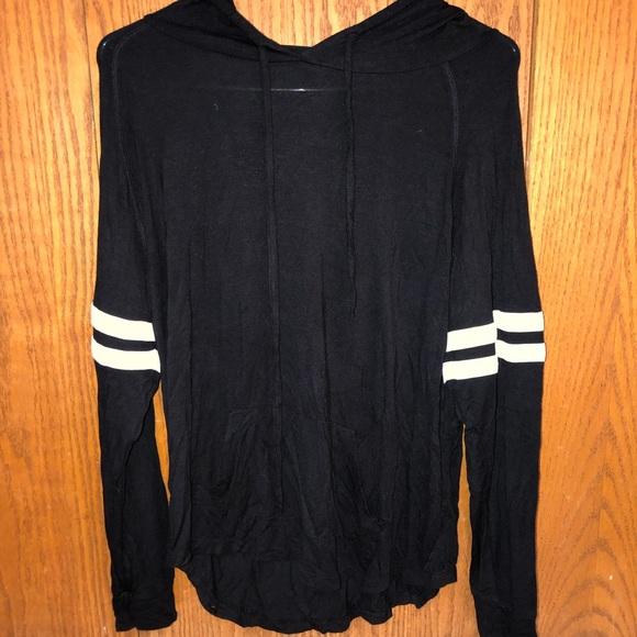 Light black hoodie